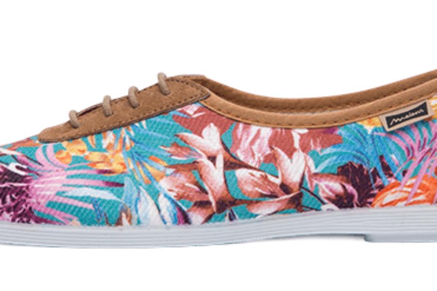 Spring Print Sneakers