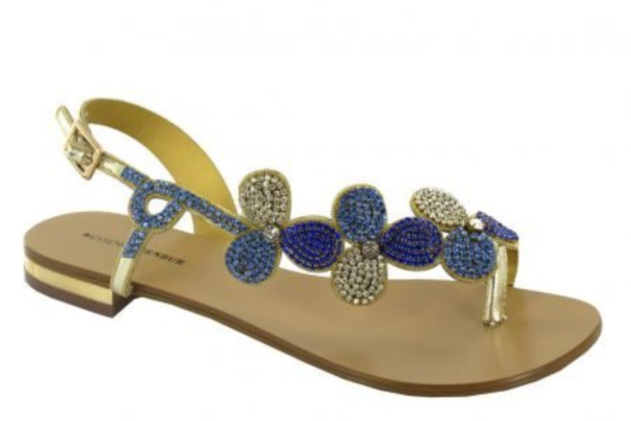 The Jeweled Sandals Parade