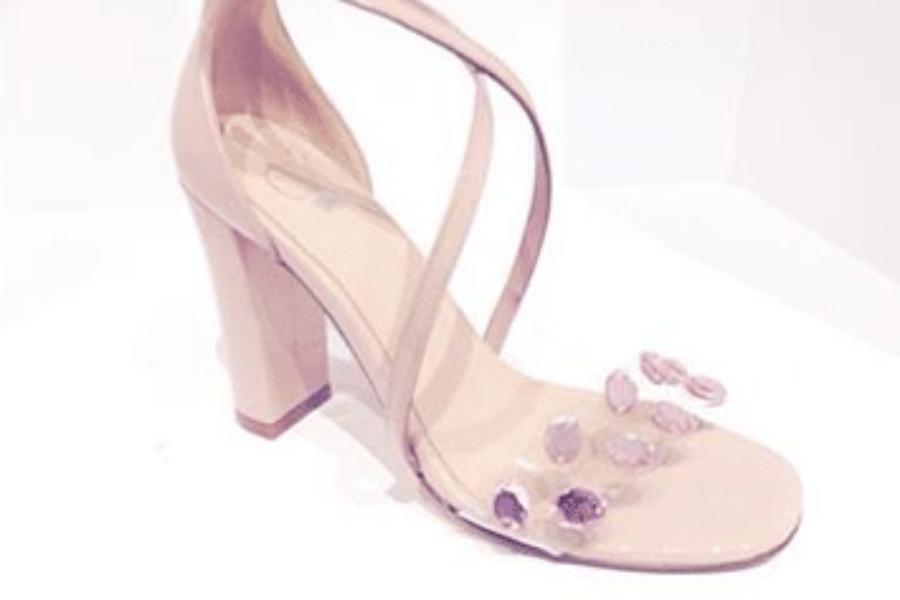 Shoe of the Week: Rose Quartz Sandal