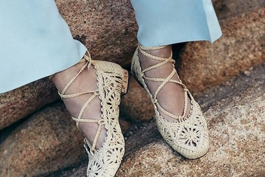 Paloma Barceló Summer Raffia Shoes