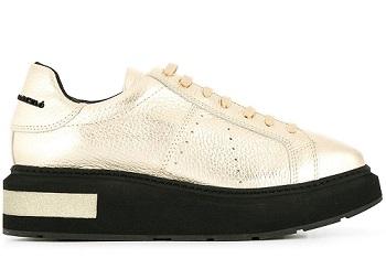 sneaker metallic designer