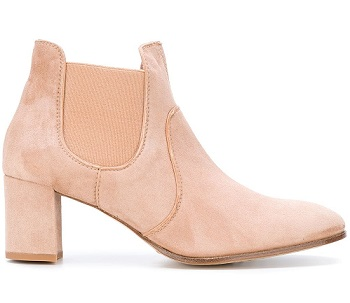 chelsea suede ankle boot
