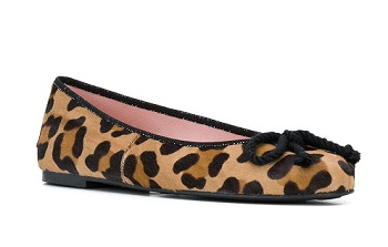 pretty ballerinas animal print
