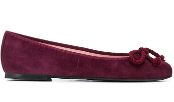 pretty ballerinas suede