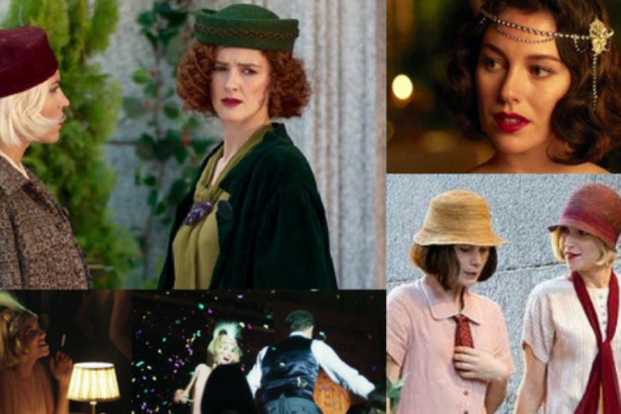 "Vintage Hats in ""Cable Girls"""
