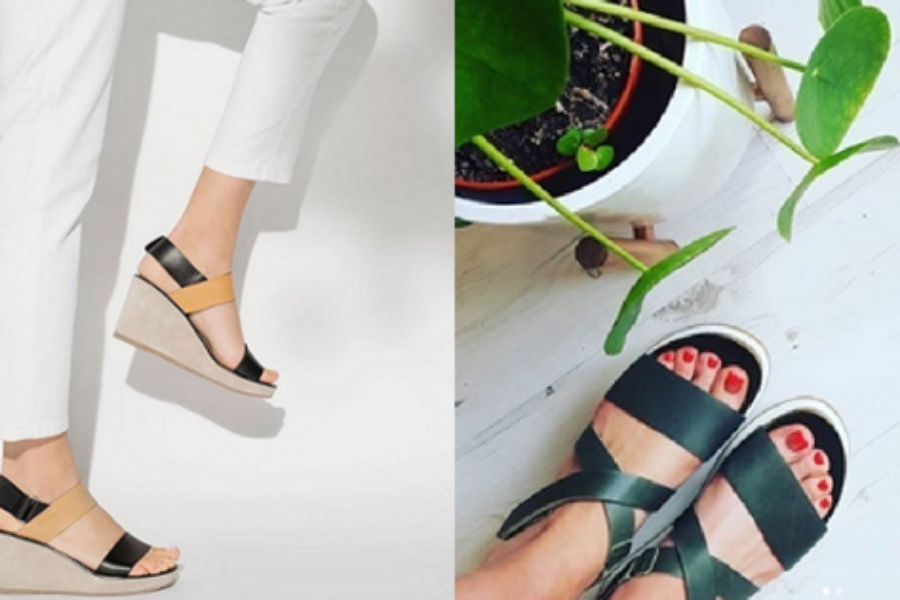 Wide Strap Sandals For Your Summer Wanderings
