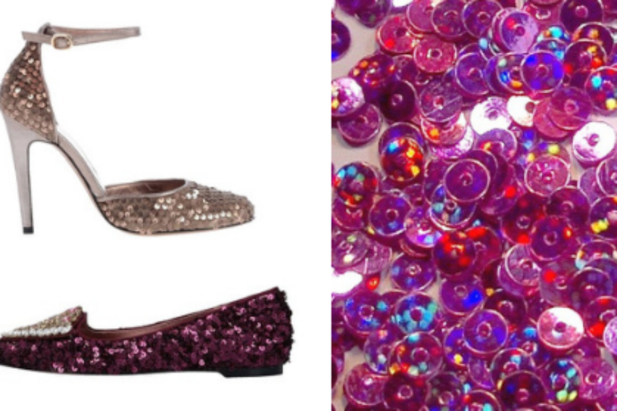 Sequin Shoes To Light Up the Holidays