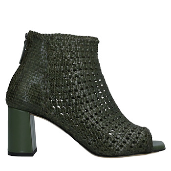 open toe summer bootie